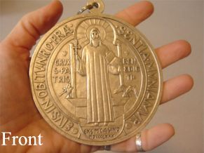 "Prisoners SAINT DISMAS CATHOLIC /""PEWTER/"" MEDAL w//24/"" Heavy Stainless Chain"