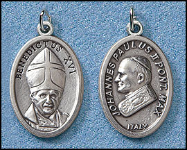 540210ab7c8 Description: Our Italian Silver Oxidized Medal comes on a convenient jump  ring, ready for a stainless steel chain. Both sides of medal shown.
