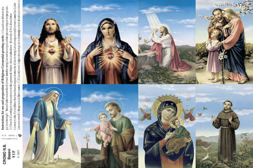 graphic relating to Free Printable Catholic Prayer Cards referred to as Completely Catholic Holy Playing cards
