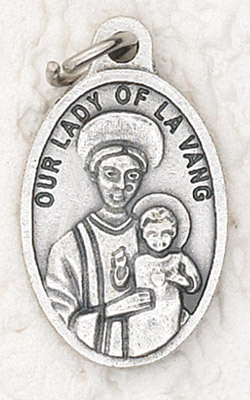 Our Lady of La Vang medal