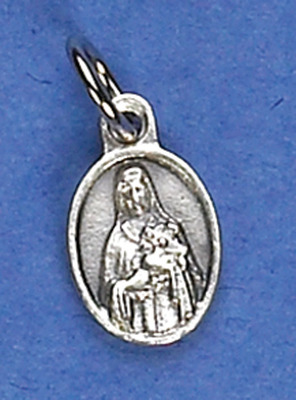 St. Therese Small oval medal