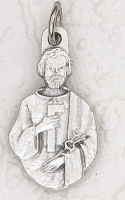 St. Joseph the Worker Tiny charm medal