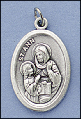 St. Anne Relic medal