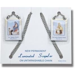 Scapular on Steel Chain