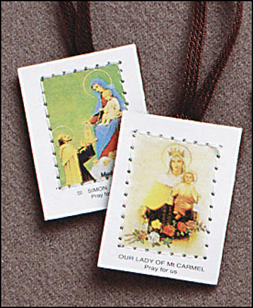 Brown Cloth Scapular