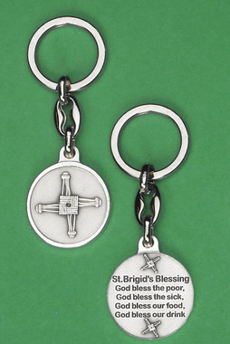 St. Brigid cross key chain