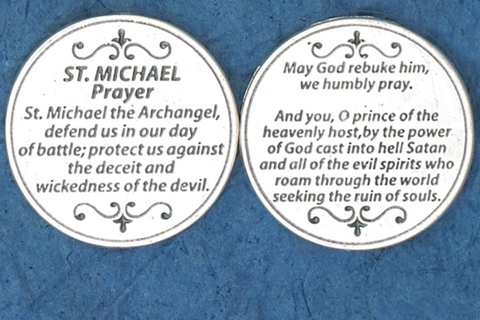 St. Michael Prayer Coin