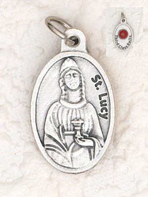 St. Lucy Relic medal