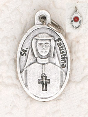 St. Faustina Relic Medal