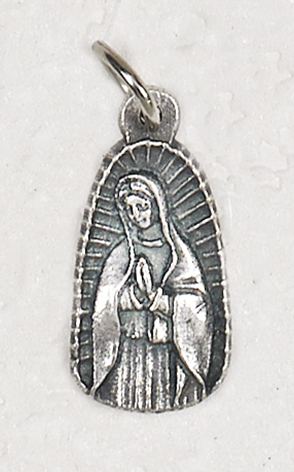 Our Lady of Guadalupe Tiny Medal Charm