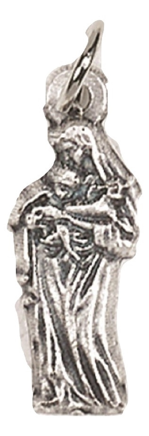 Our Lady with Child Tiny charm medal (AA-16)