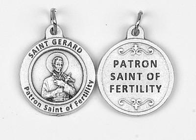 Catholic patron saints medals healing saints medals aloadofball Image collections