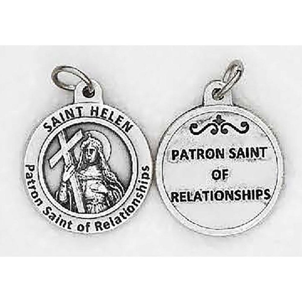 St. Helen Healing Saint Medal for relationships