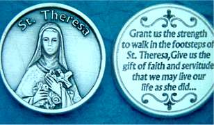 St. Therese Pocket coins