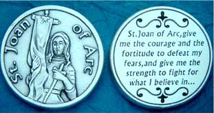 St. Joan of Arc Pocket Tokens