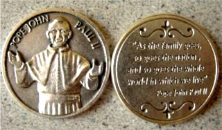 Pope John Paul Pocket Token