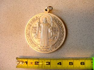 Back in Stock again! The Largest St. Benedict's Medal on the net!
