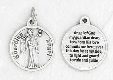 Guardian Angel Healing Medal