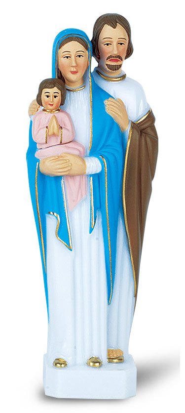 6 inch size Holy Family statue