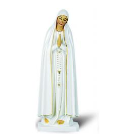 Our Lady of Fatima color statue