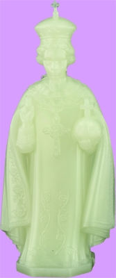 Glow in the Dark Infant of Prague statue