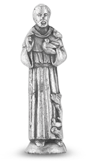 St. Francis pocket statue
