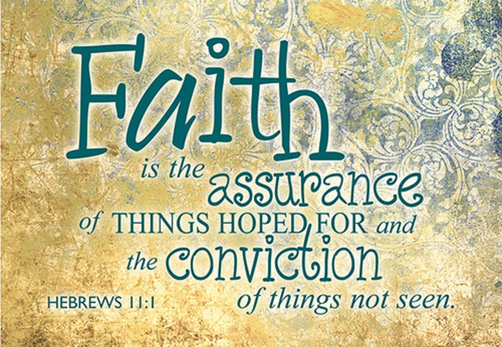 Pass It On - Faith is the Assurance