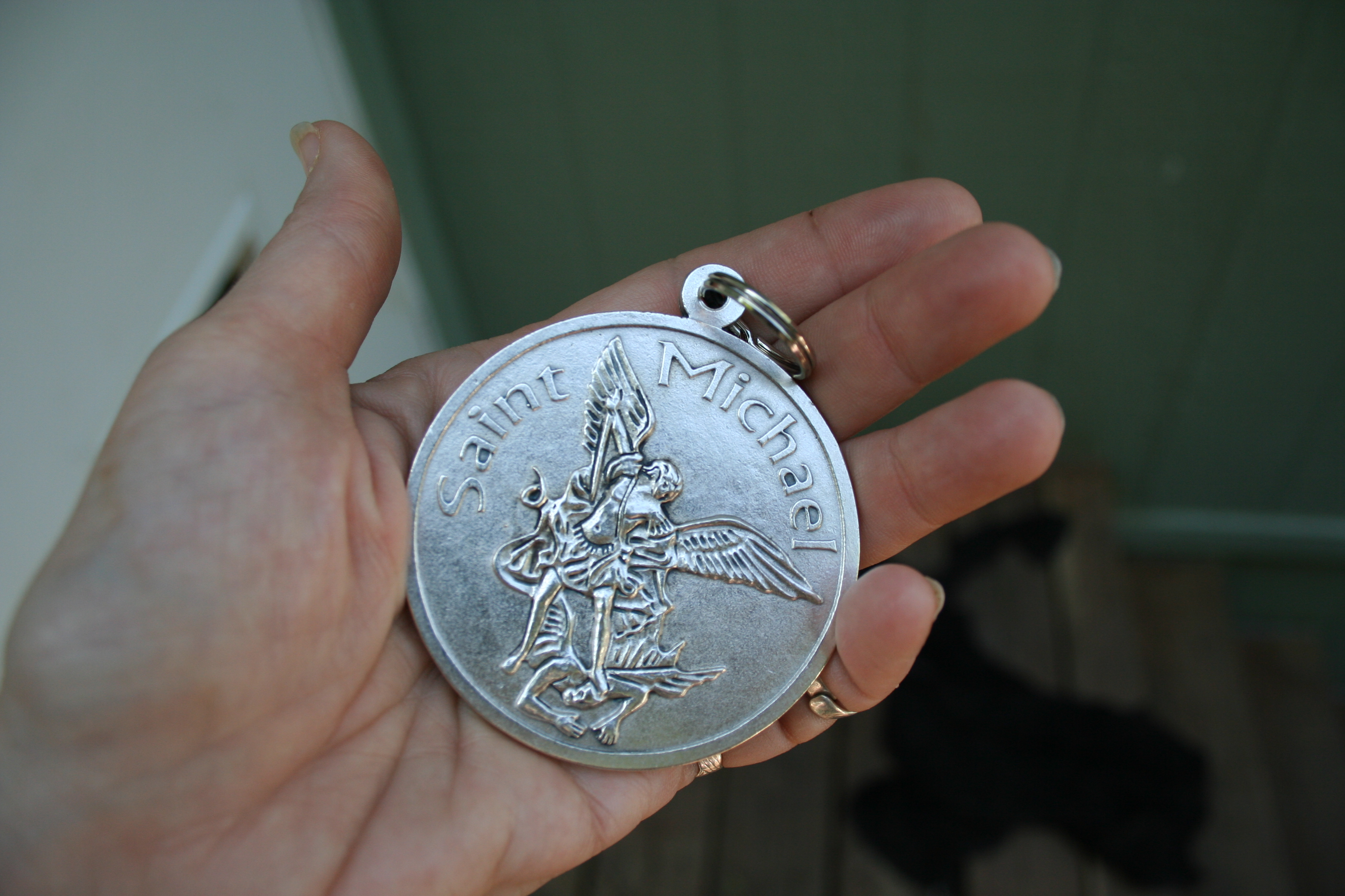medallion his medal and catholic saint epicpew miraculous truly usain bolt faith