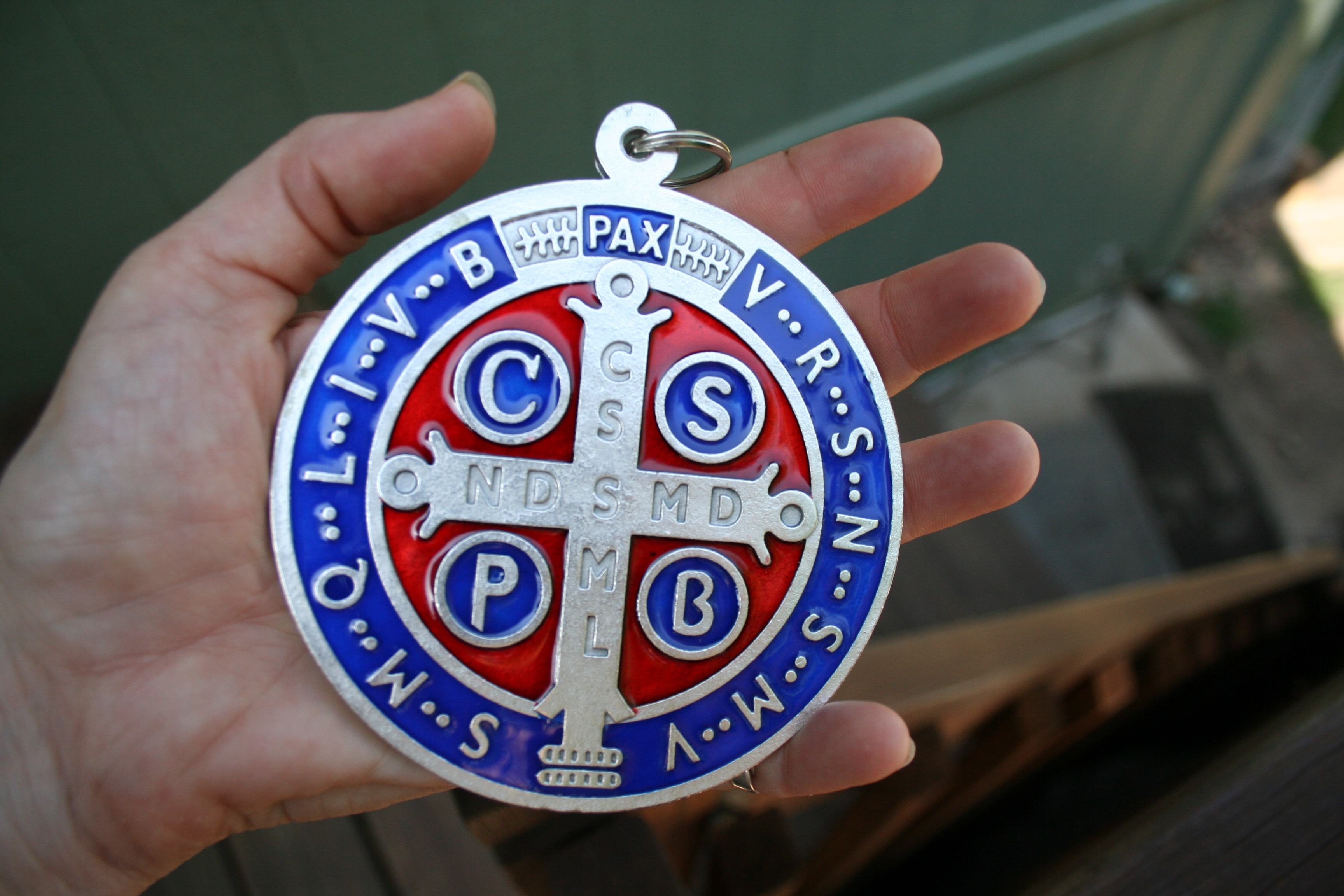 Largest Color St. Benedict Medal