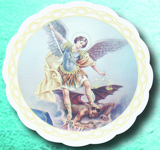 St. Michael Window Cling