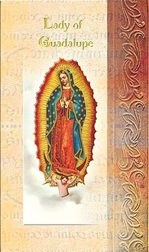 Our Lady of Guadalupe Lives of the Saints card