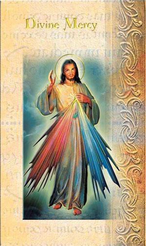 Divine Mercy Lives of the Saints card