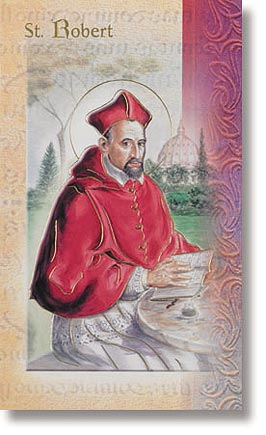 Saint Robert Patron Saint Prayer Folder