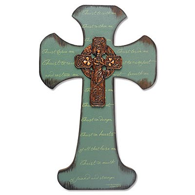 St. Patrick Breastplate Wall Cross