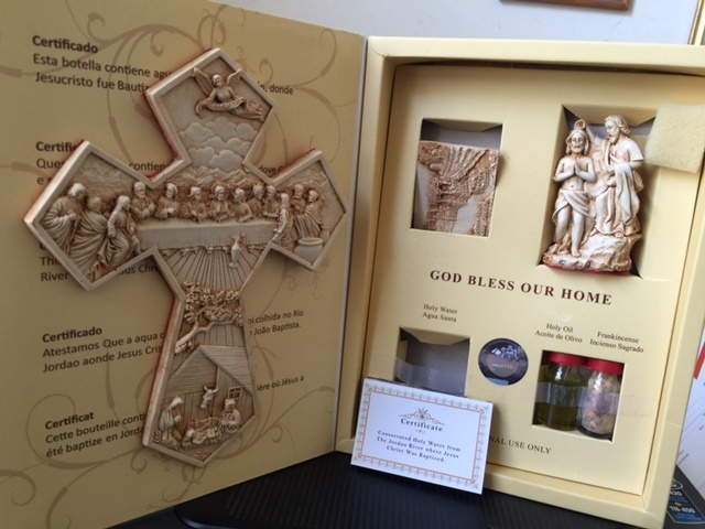 Large Deluxe Holy Land Gift Set