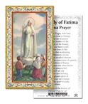 Deluxe Fatima Paper holy cards