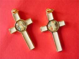Enamel Inlay Crosses, Guardian angel