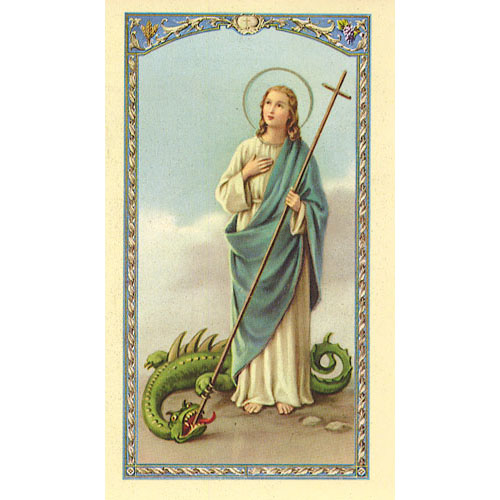 Value Priced Martha Paper Holy Card