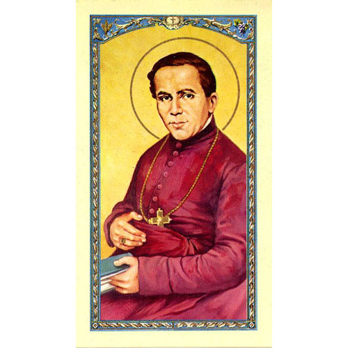 Value Priced St. John Neumann Paper Holy Card
