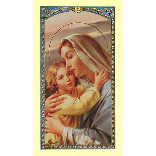 Value Priced Invocations to Mary Holy Card