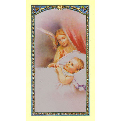 Value Priced Precious Little Boy Paper Holy Card