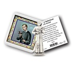 St. Gerard Pocket Statue with Prayer card