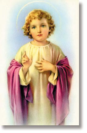 Christ Child Wallet Sized Holy card