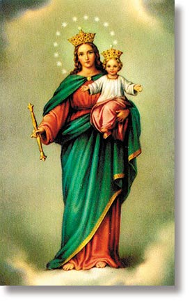 Our Lady of Victory Wallet Sized Holy Card
