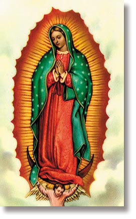 Our Lady Guadalupe Wallet Sized Holy Card