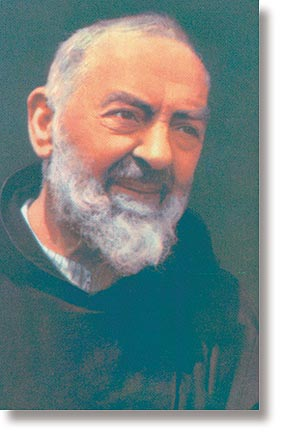 St Pio Wallet Sized Holy Card