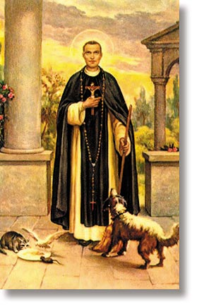 St Martin de Porres Wallet Sized Holy Card