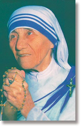 Saint Mother Teresa Wallet Sized Holy Card