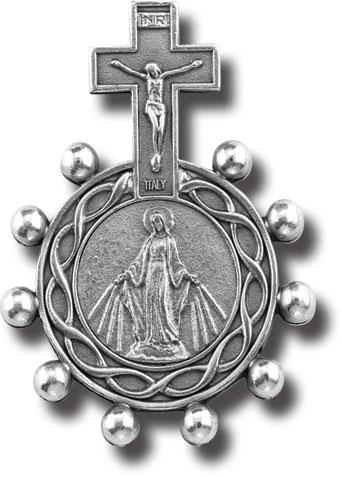 St. Peregrine Cancer Rosary Rings
