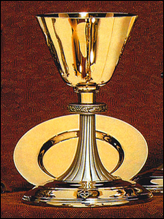 Chalice With Brass Cup